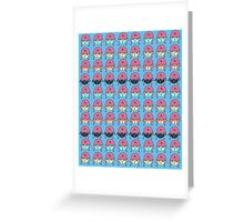 Star Kitty Army Greeting Card