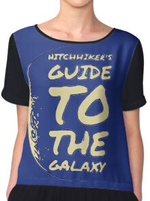 Hitchhiker's Guide to the Galaxy Chiffon Top