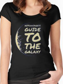 Hitchhiker's Guide to the Galaxy Women's Fitted Scoop T-Shirt