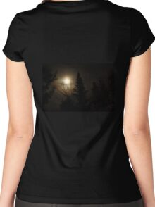Moon Halo Women's Fitted Scoop T-Shirt