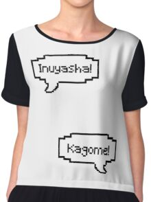 Inuyasha and Kagome Chiffon Top