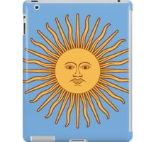 Argentina Flag T-Shirt Argentine Bedspread Sol De Mayo - Sun of May iPad Case/Skin