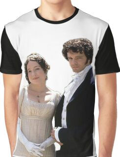 Elizabeth and Darcy circa 1995 Graphic T-Shirt
