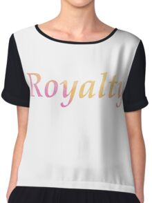 Royalty (Water Color) Chiffon Top