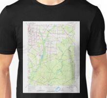 USGS TOPO Map New Jersey NJ Five Points 254372 1956 24000 Unisex T-Shirt