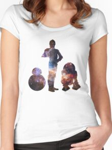 The Droids  Women's Fitted Scoop T-Shirt