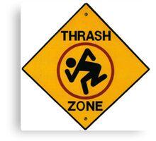 DRI Thrash Zone - T-Shirt Canvas Print