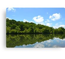 Mother Nature's Magic Mirror Canvas Print