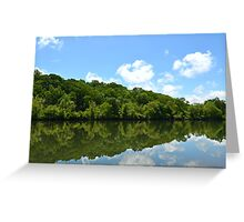 Mother Nature's Magic Mirror Greeting Card