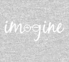 Imagine - John Lennon Tribute Artwork - John's Glasses One Piece - Long Sleeve