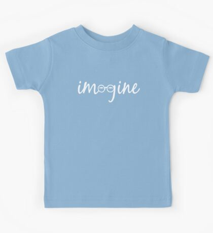 Imagine - John Lennon Tribute Artwork - John's Glasses Kids Tee
