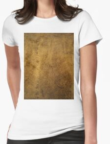 Textured Stone Womens Fitted T-Shirt