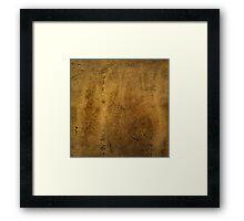 Textured Stone Framed Print