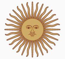 Argentina Sun Duvet Cover - Argentinian Sticker Kids Tee
