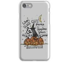May Luck Be Yours on Halloween iPhone Case/Skin