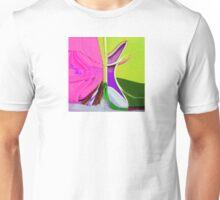 Convergence to Purple Unisex T-Shirt