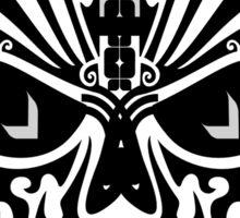 The Devil Inside - Cool Skull Vector Design Sticker