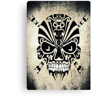 The Devil Inside - Cool Skull Vector Design Canvas Print