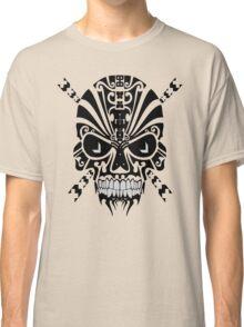 The Devil Inside - Cool Skull Vector Design Classic T-Shirt
