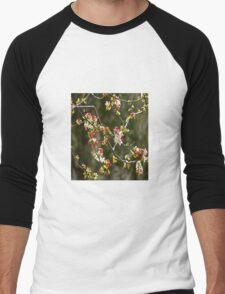 1000 Tiny Flowers, it's Spring! Men's Baseball ¾ T-Shirt