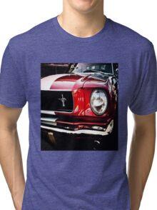 Ford Mustang, a classic American car Tri-blend T-Shirt