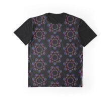 Trippy Rainbow Eyes Seamless Pattern Graphic T-Shirt