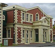 Surpeme Court Building, Launceston, Tasmania, Australia Photographic Print