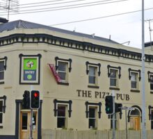 Pizza Pub, Launceston, Tasmania, Australia Sticker