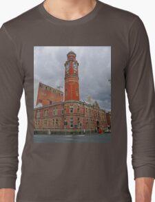 Clock Tower, Launceston, Tasmania, Australia Long Sleeve T-Shirt
