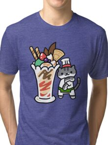Guy Furry (Neko Atsume) Tri-blend T-Shirt