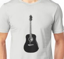 Steel String Accoustic Guitar Unisex T-Shirt