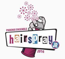 PYP - Hairspray JR (pink) One Piece - Short Sleeve