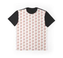 pink watercolor flower Graphic T-Shirt