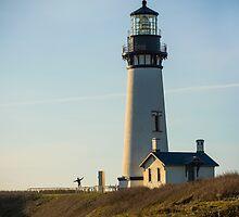 Yaquina Lighthouse, Newport, Oregon by Doug Graybeal
