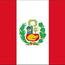 Peru Flag (civil) Products by Mark Podger
