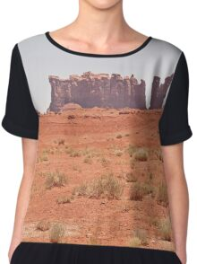 RT14 - Monument Valley Chiffon Top