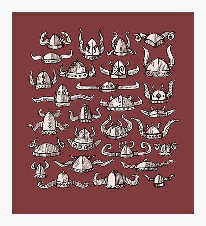 Horned Headware Photographic Print