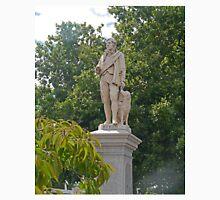Statue of Robert Burns, poet, Ballarat, Victoria, Australia Unisex T-Shirt