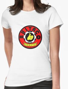 Vintage Bultaco Spanish Motorcycle Womens Fitted T-Shirt