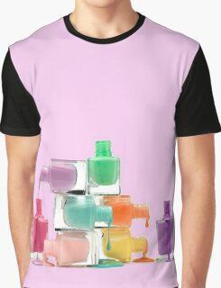 Happy nail polish Graphic T-Shirt