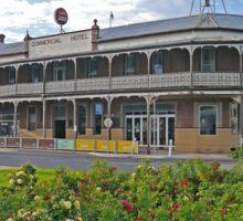 Commercial Hotel, Nhill, Victoria, Australia Sticker