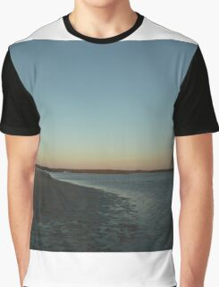 the beach after sunset Graphic T-Shirt
