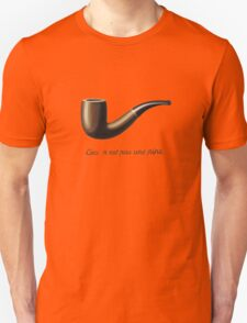 In the style of René Magritte Unisex T-Shirt