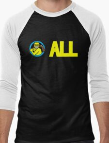 ALL T-Shirt Men's Baseball ¾ T-Shirt