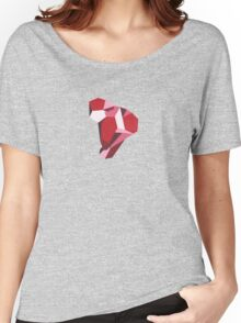 Red Gemstone Women's Relaxed Fit T-Shirt