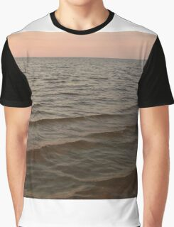 water after sunset Graphic T-Shirt