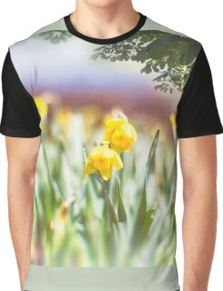 Field of Daffodils Graphic T-Shirt