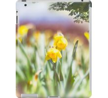 Field of Daffodils iPad Case/Skin