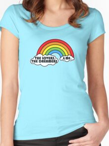 Rainbow Connection Women's Fitted Scoop T-Shirt