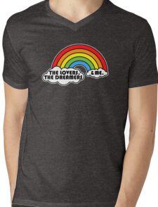 Rainbow Connection Mens V-Neck T-Shirt